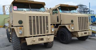 Large Military Trucks