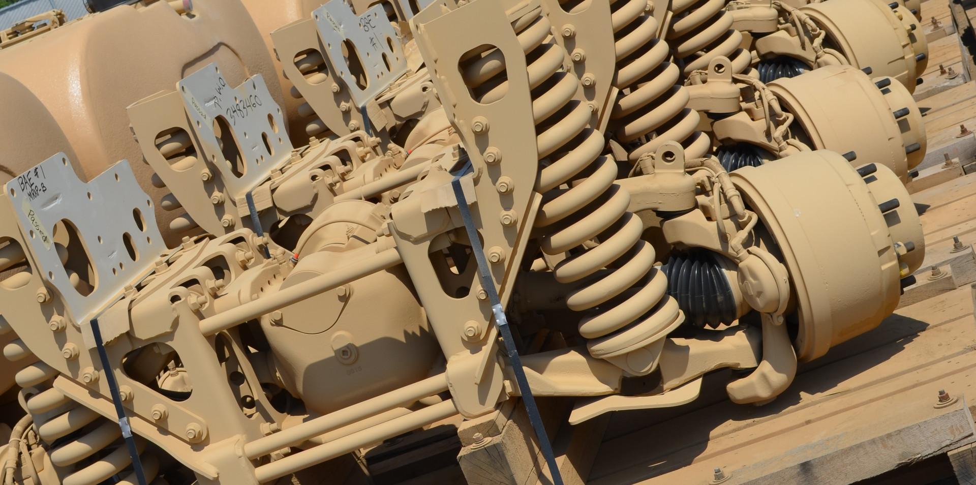 Military axles