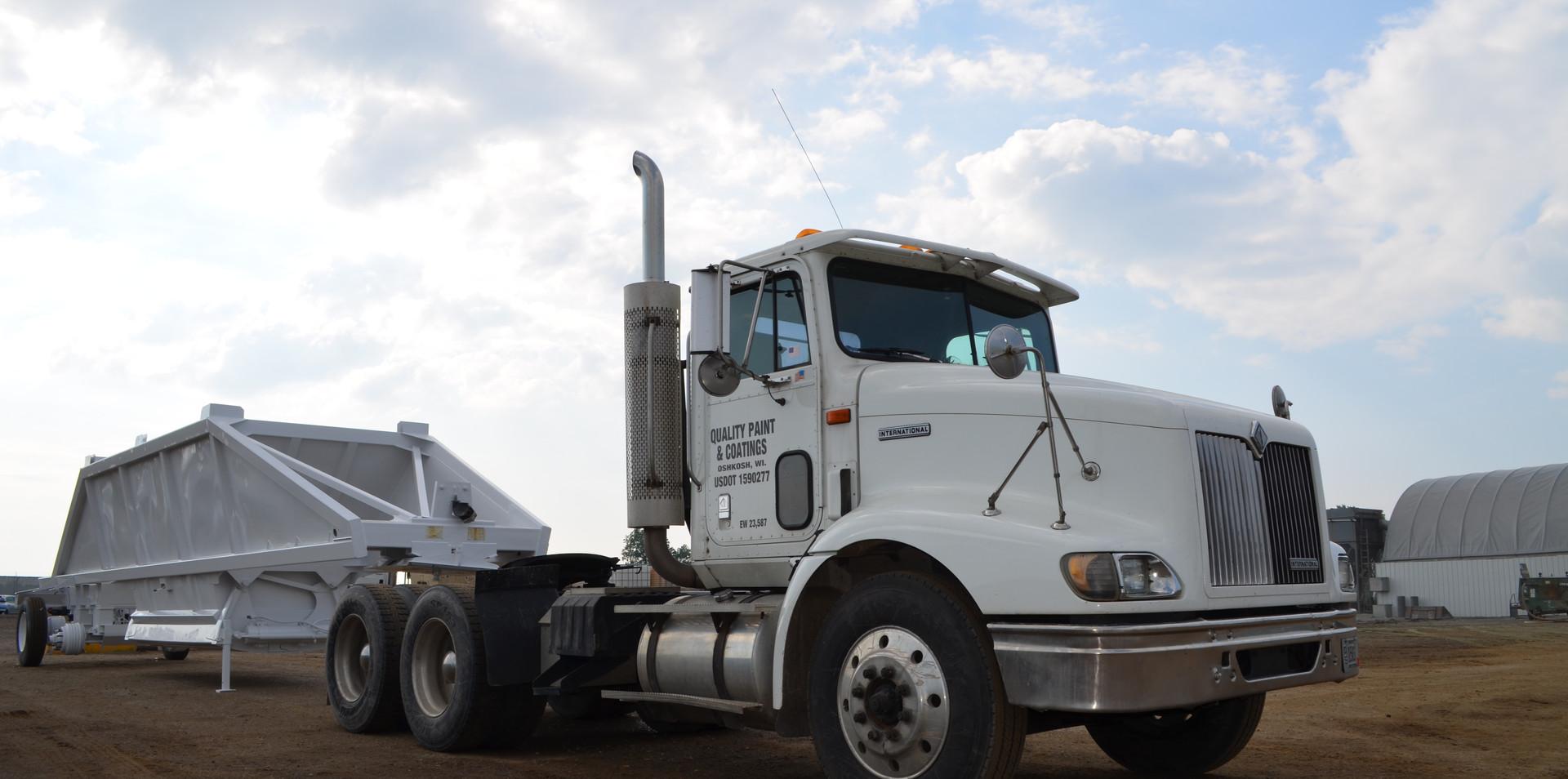 QPC's Shipping/Receiving Truck