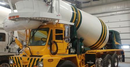 Green Bay Packers Cement mixer truck