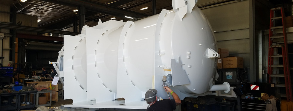 Touch up Truck tank
