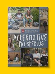 Cover of student-written Alternative Prospectus