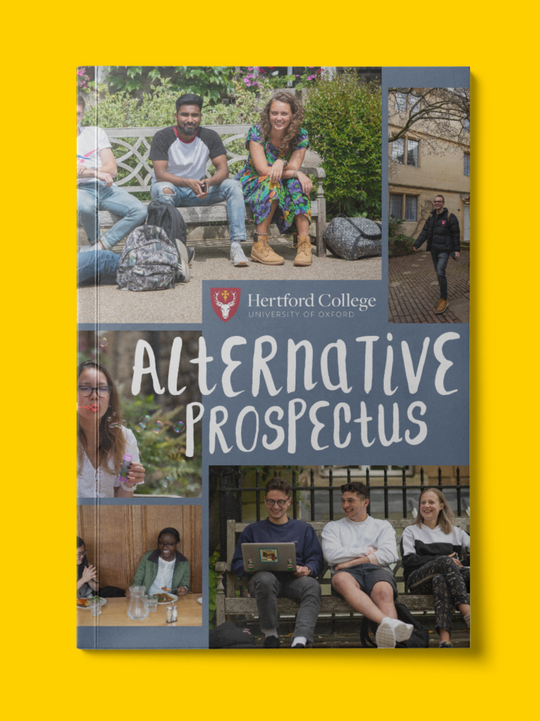 Cover of student-written Alternative Prospectus