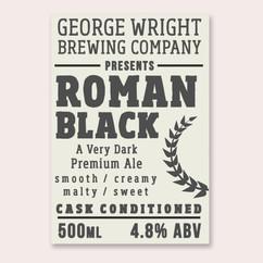 George Wright Roman Black Label