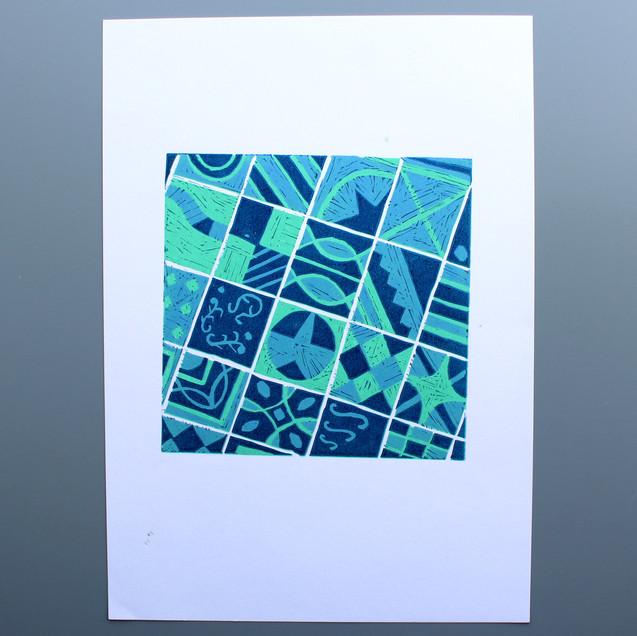 Nutgrove Studios Lino Print