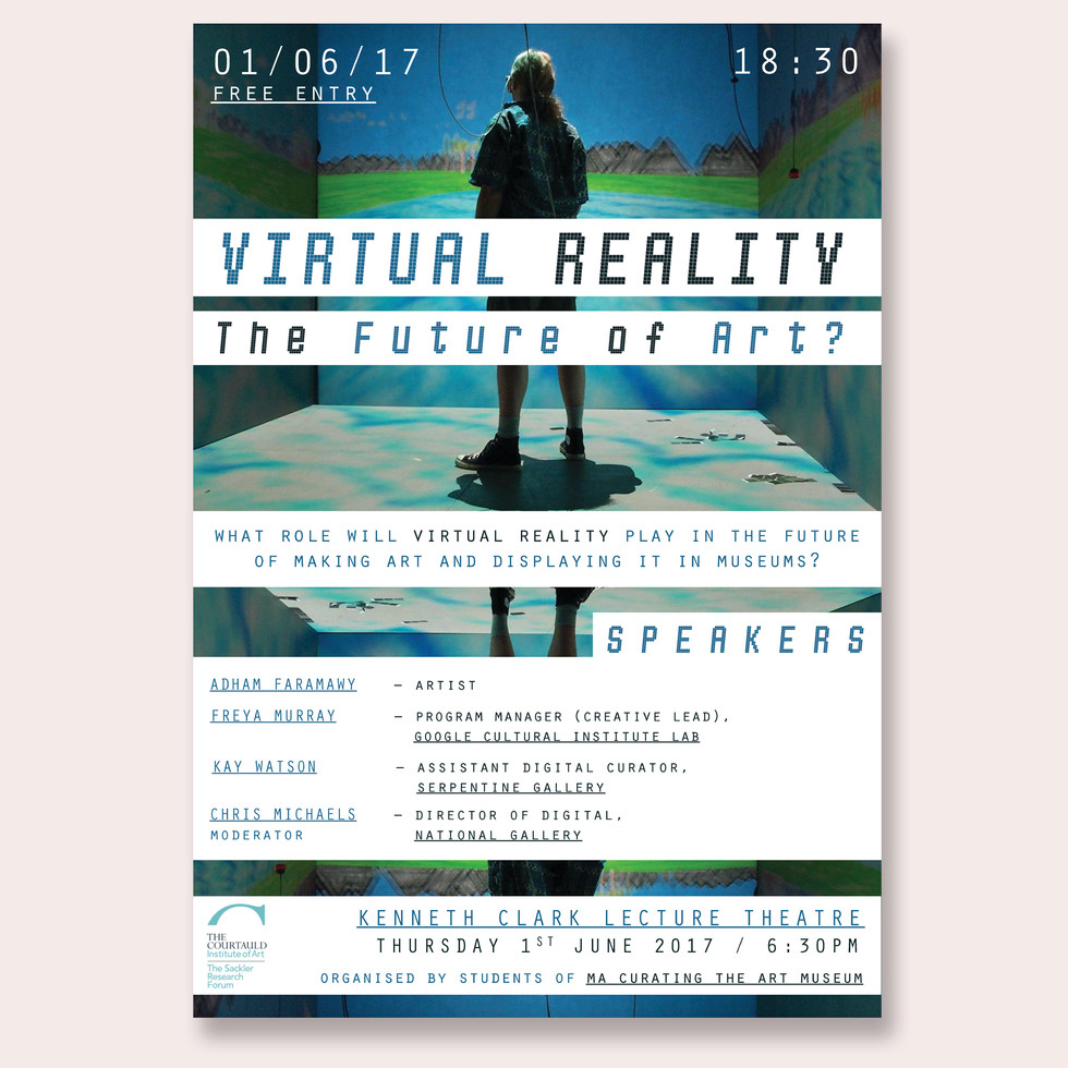 Virtual Reality Debate Poster