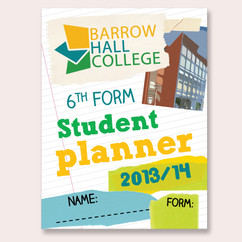 Barrow Hall College Student Planner