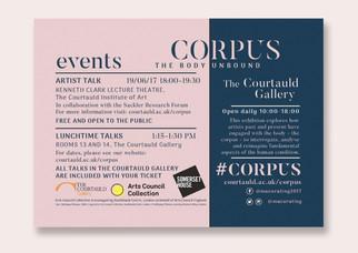 'CORPUS: The Body Unbound' Postcard