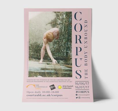 Corpus exhibition poster