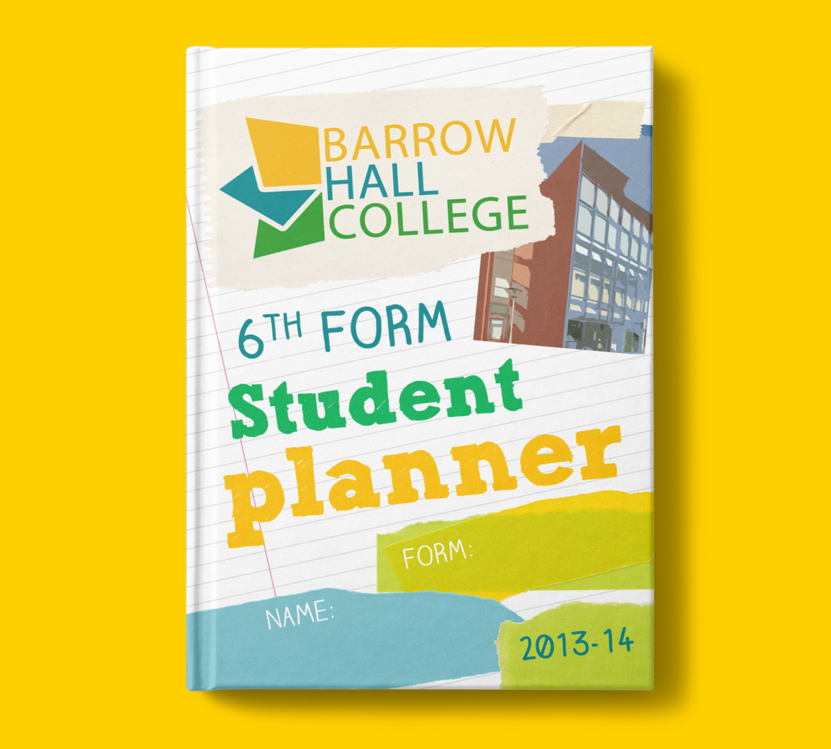 Student planner cover