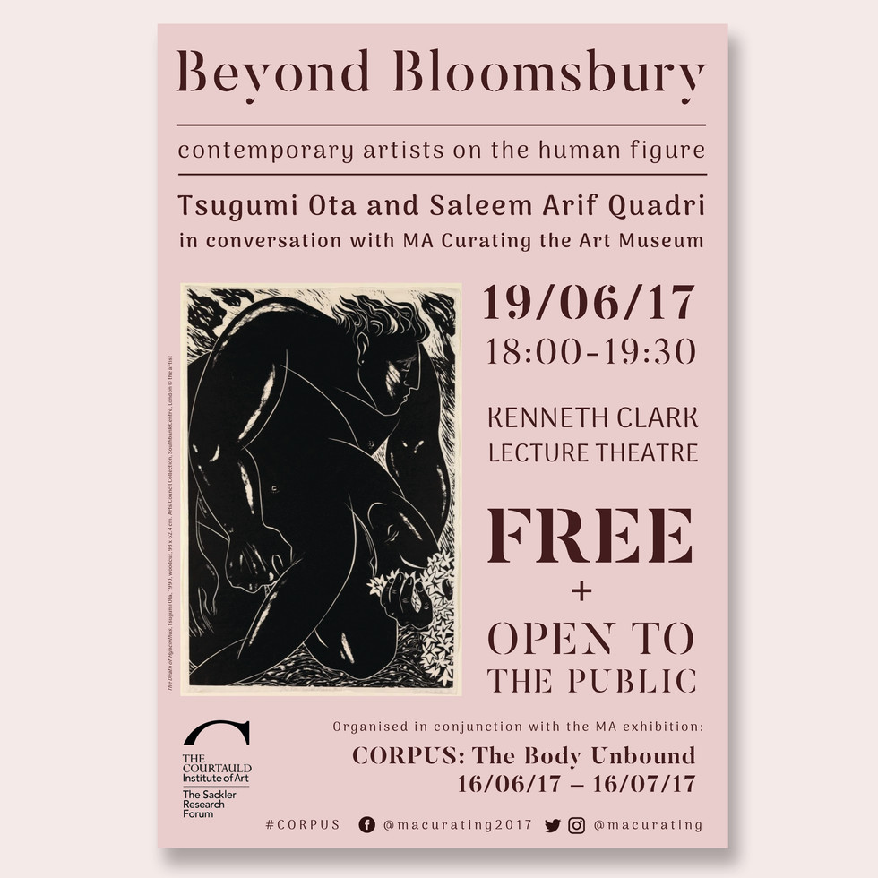Beyond Bloomsbury Poster