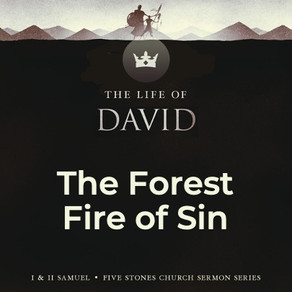 The Forest Fire of Sin - The Life of David // Pastor Rich Kao