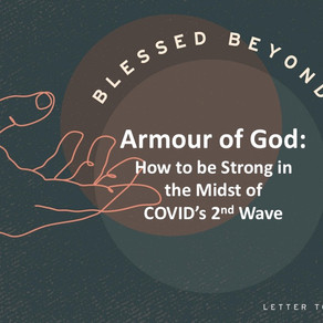 Armour of God - Blessed Beyond Measure // Pastor Rich Kao