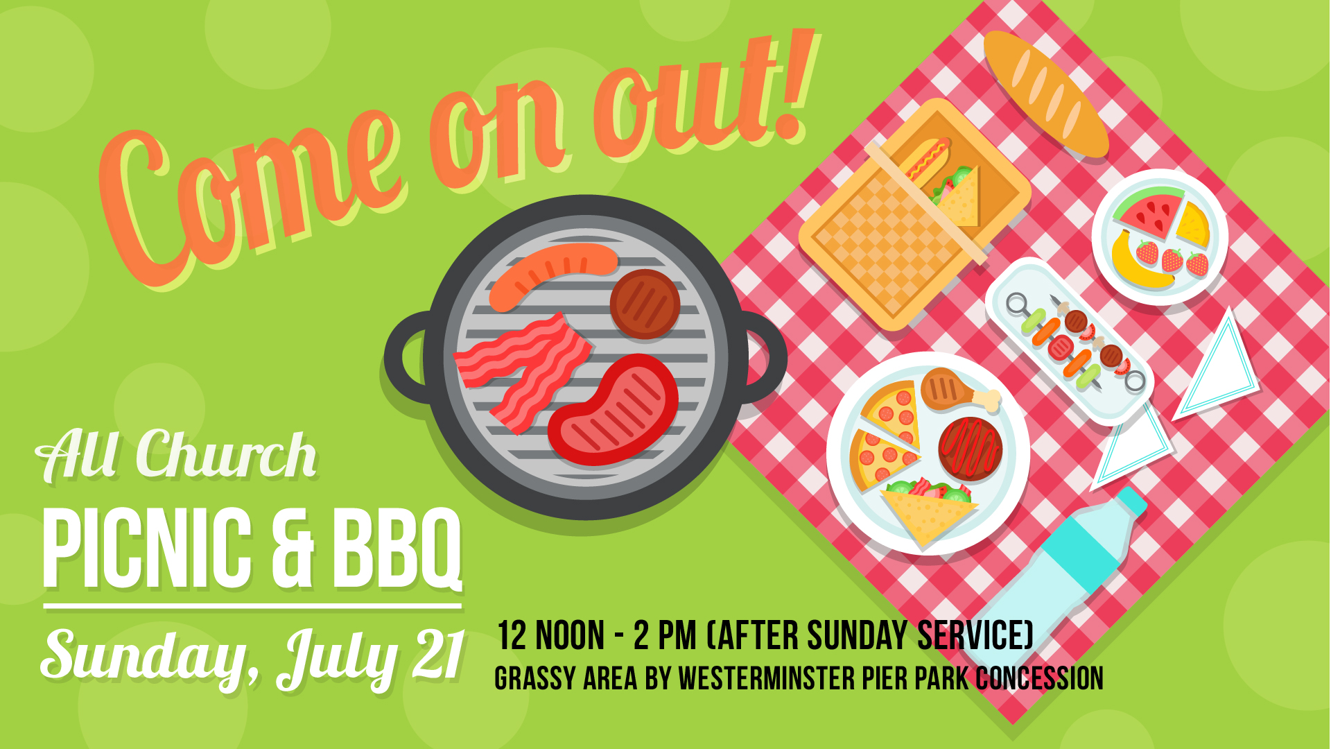 Come on out! All Church Picnic & BBQ