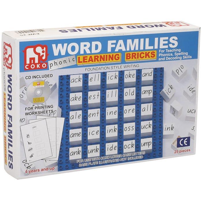 Coko Word Families