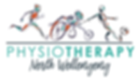 NG Physio Brand  - full colour on white