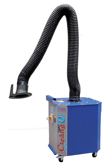 CleanGo portable fume extraction
