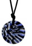 button tectonic black grey swirl