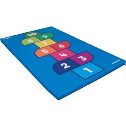 Hopscotch mat