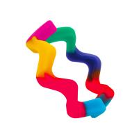 wave bangle rainbow