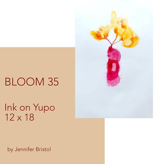 Bloom 35 - original painting