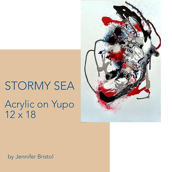 Stormy Sea - original painting