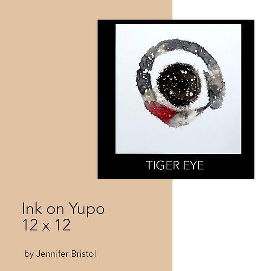 Tiger Eye - original painting