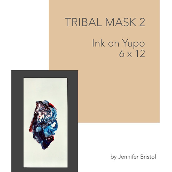Tribal Mask 2 -original painting