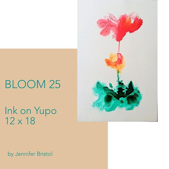 Bloom 25 - original painting