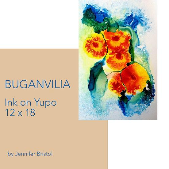 Buganvilia - original painting