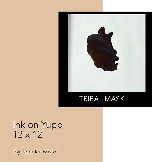 Tribal Mask 1 - original painting