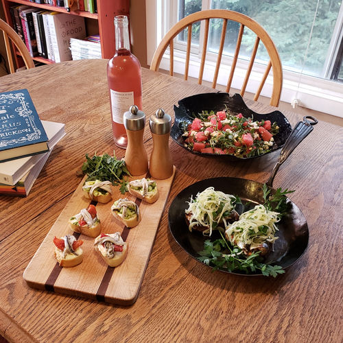 Cooking In Community:  Seafood Recipes for the Landlocked
