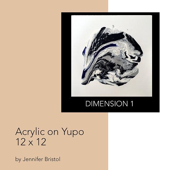 Dimension 1 - original painting