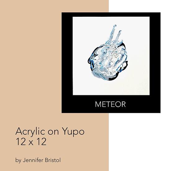 Meteor - original painting