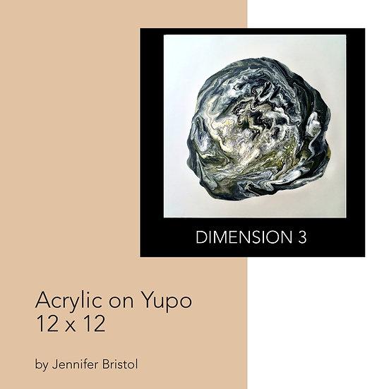 Dimension 3 - original painting