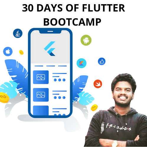 30 Days Of Flutter Bootcamp