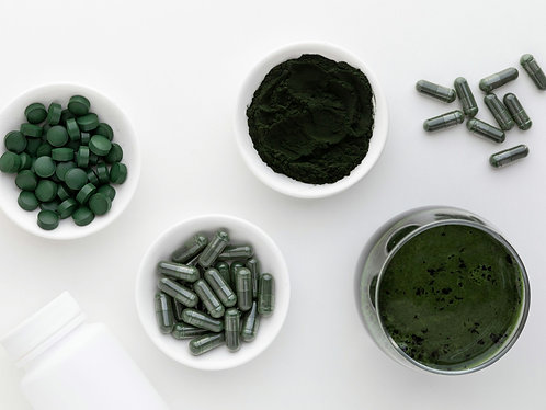 Spirulina Capsule (Removes Metal From the Body(