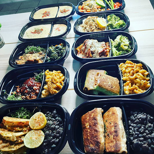 Vegan Meal Prep by Compatibe Delights