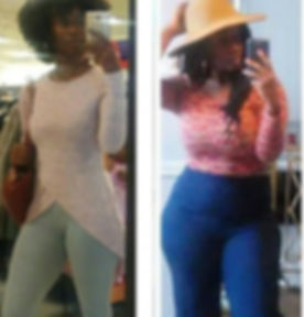 No flat tummy tea or herbalife did this..no diet drinks or diet foods..no get slim quick tricks or s