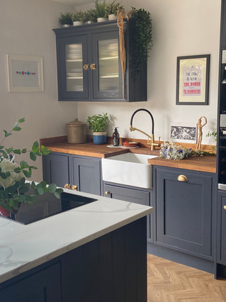 two tone worktops