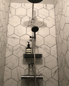 Hexagon tile love