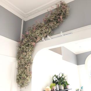 Flower cloud installation