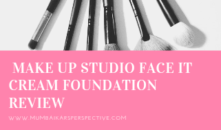 Make Up Studio Face It Cream Foundation Review