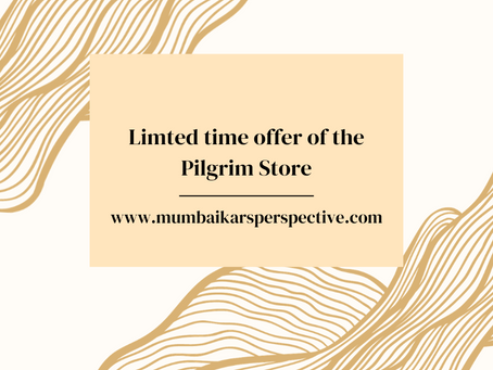 Limited Time Offer of the Pilgrim Store