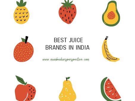 Best Juice Brands in India