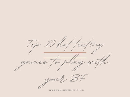 Top 10 Hot Texting Games to Play with your BF
