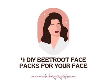 4 DIY Beetroot Face Packs for your Face
