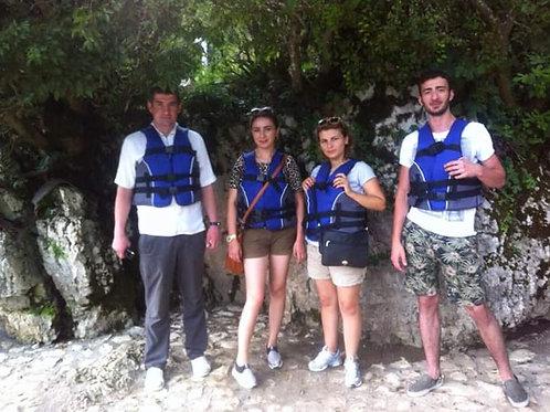Тбилиси-Пещера Прометея-Мартвили-Батуми
