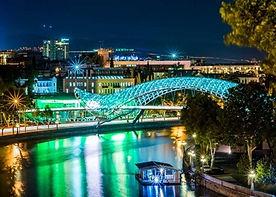 Мост Мира Вечеромjpg
