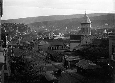 Старый Тбилиси Фото Церковь Святого Нико